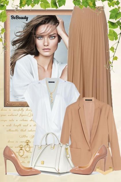 nr 1087 - Natural- Fashion set