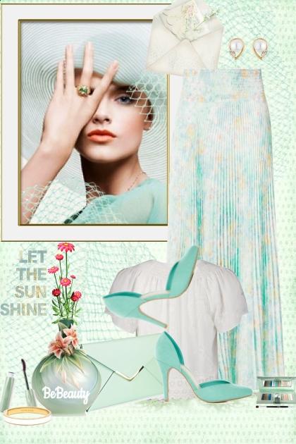 nr 1097 - Mint shades