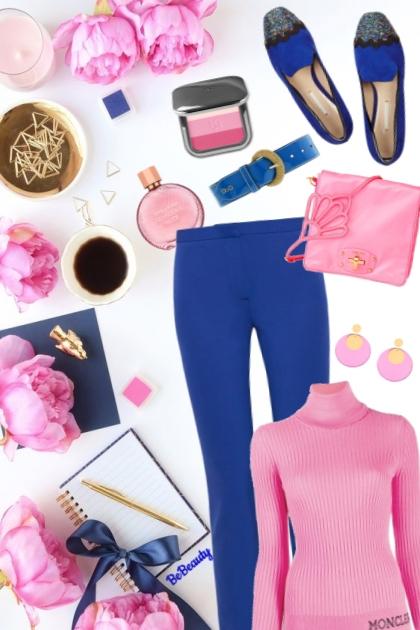 nr 1169 - Pink & blue