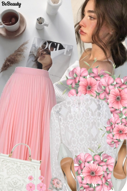 nr 1332 - Pink & white