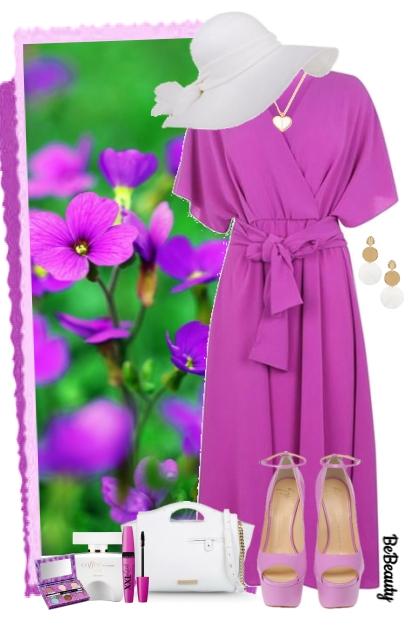 nr 1337 - Purple & white