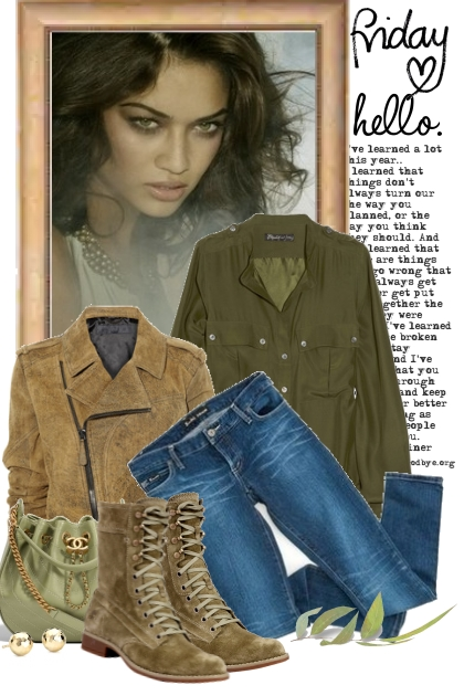 nr 1346 - Here comes the weekend...- Fashion set