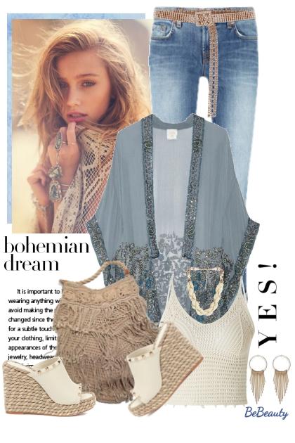 nr 1514 - Bohemian dream- Fashion set