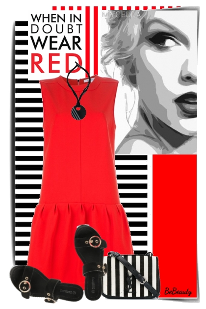 nr 1599 - Red-black-white
