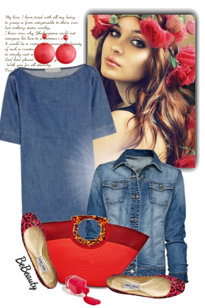 nr 1668 - Casual Summer look- Fashion set
