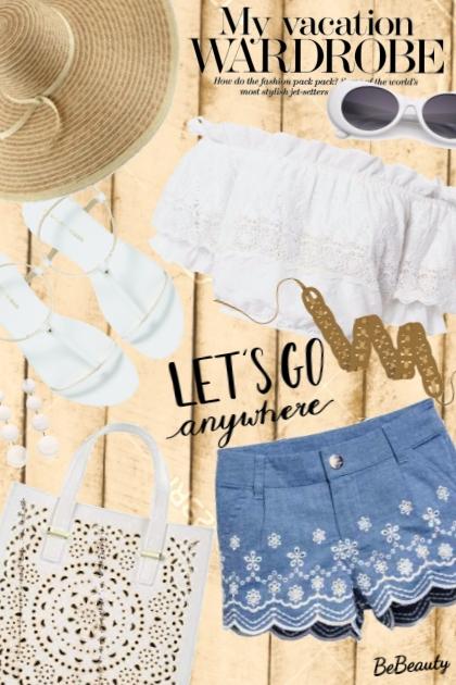 nr 1670 - My vacation wardrobe- Fashion set