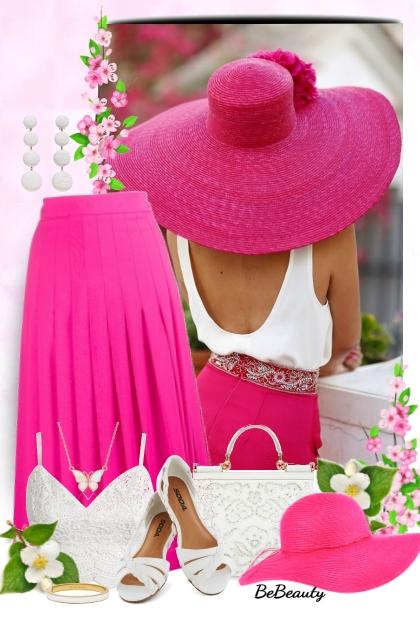 nr 1672 - Summer chic- Fashion set