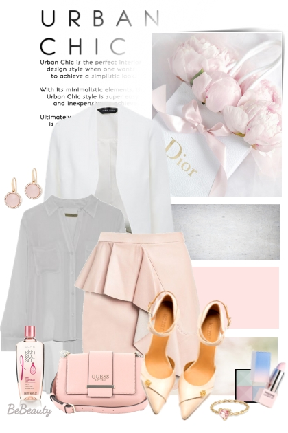 nr 1677 - Urban chic- Fashion set