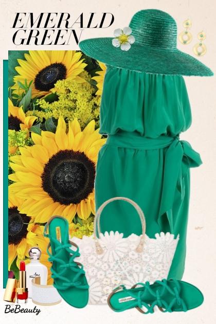 nr 1686 - Emerald green