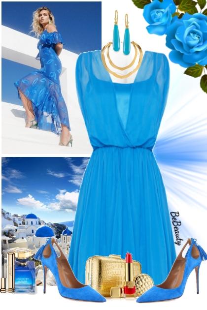 nr 1704 - Aqua blue