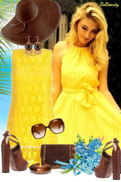 nr 1721 - Yellow & brown