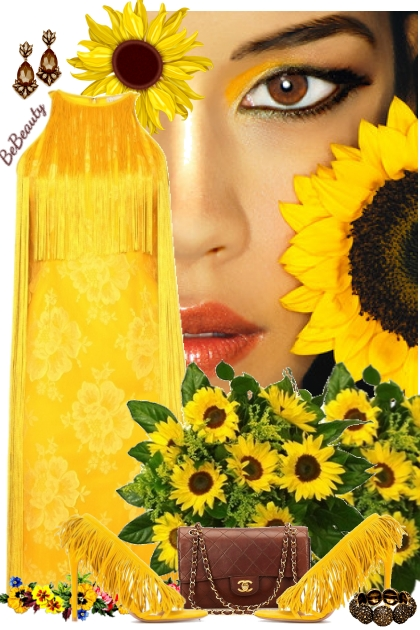 nr 1812 - Sunflower yellow