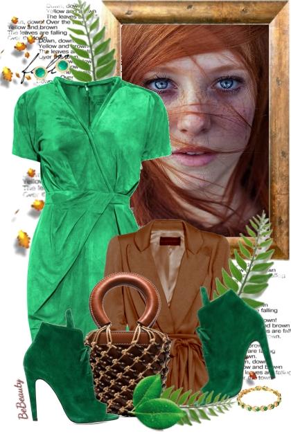 nr 1823 - Green & brown
