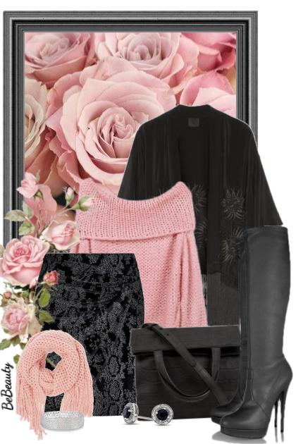 nr 1897 - Black & pink