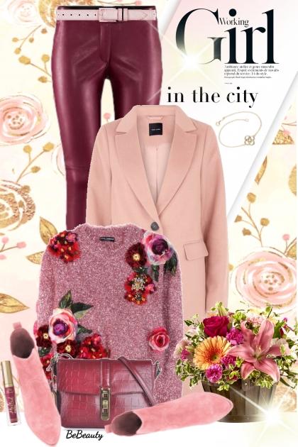 nr 2049 - Autumn floral- Fashion set