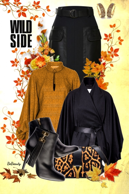 nr 2051 - Autumn- Fashion set