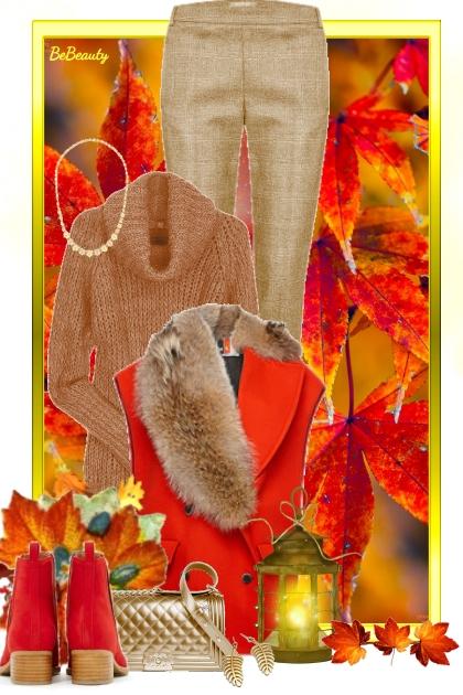 nr 2058 - Fall shades- Fashion set