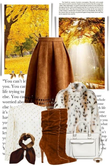 nr 2062 - Fall vibes- Fashion set