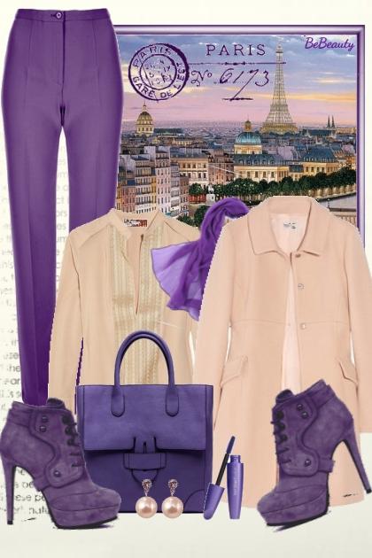 nr 2064 - Parisian chic- Fashion set