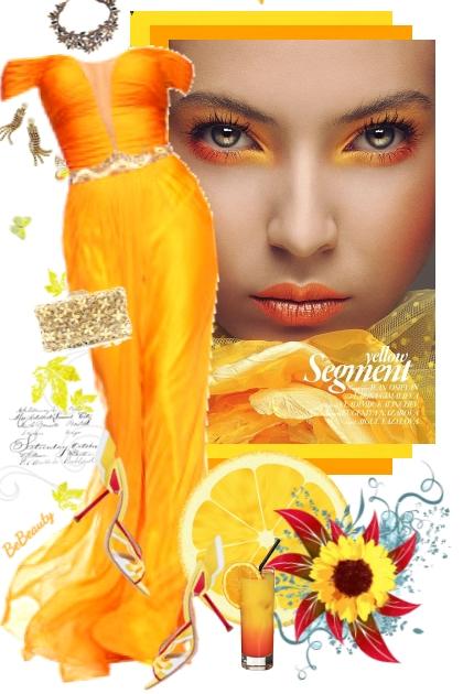 nr 2100 - Orange glamour