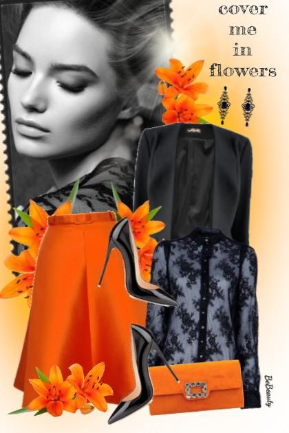 nr 2108 - Black & orange