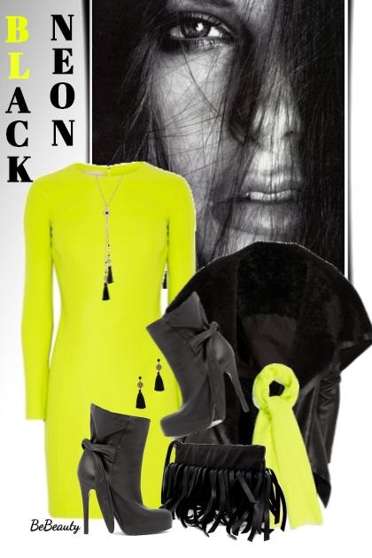 nr 2120 - Neon & black