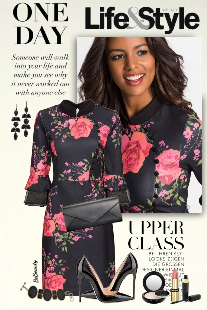 nr 2150 - Floral dress