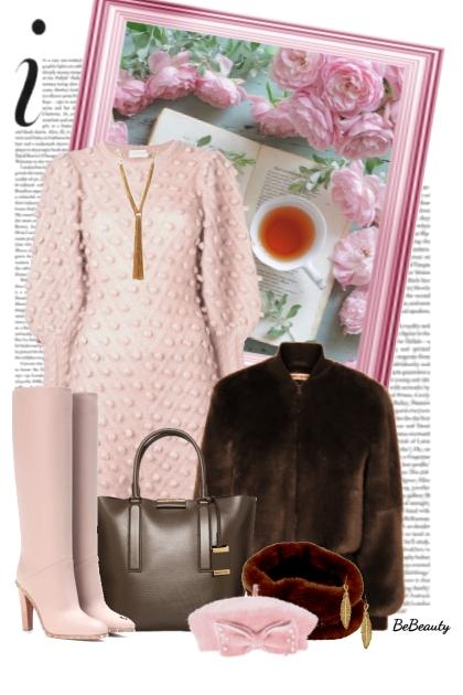nr 2192 - Cozy Fall- combinação de moda