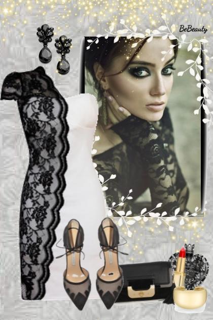 nr 2341 - Lace dress