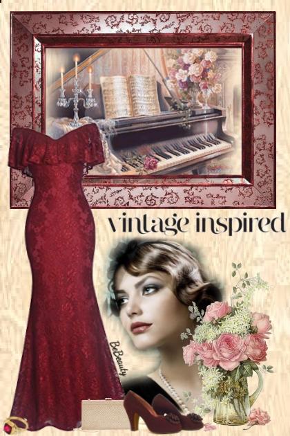 nr 2350 - Vintage inspired
