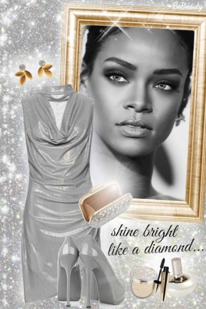 nr 2387 - Rihanna- combinação de moda