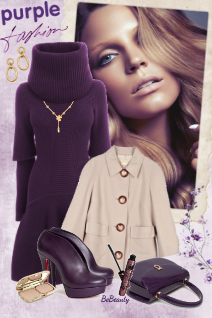 nr 2398 - Purple- Fashion set