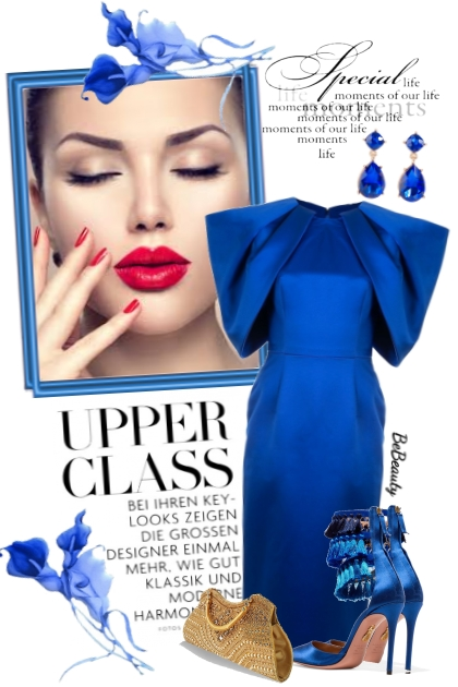 nr 2410 - Royal blue- Fashion set