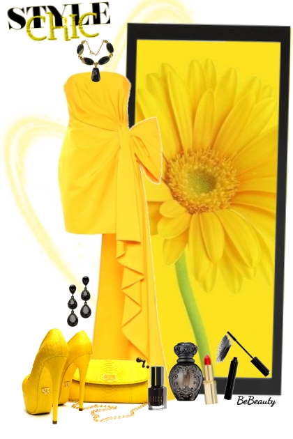 nr 2423 - Yellow chic