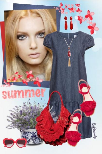 nr 2428 - Summer ♥- combinação de moda