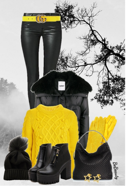 nr 2434 - Yellow & black