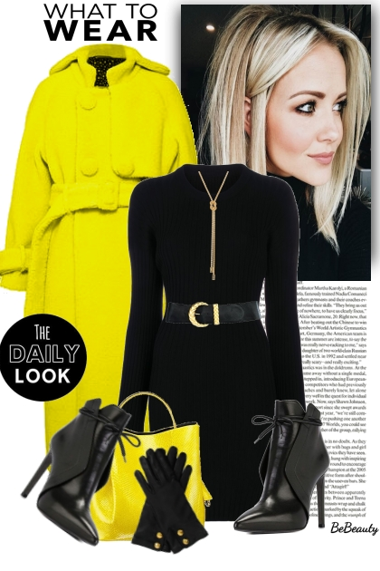 nr 2441 - Yellow & black