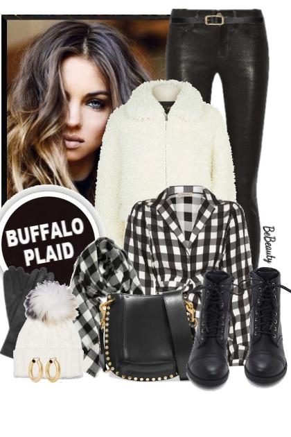 nr 2468 - Buffalo plaid
