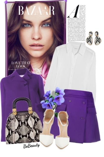 nr 2469 - Purple chic