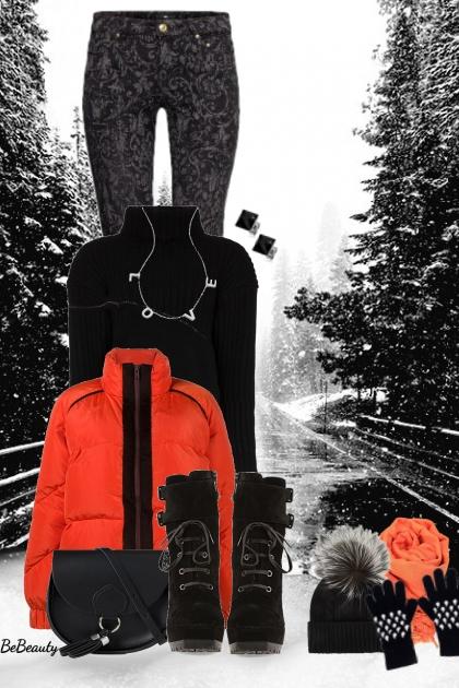 nr 2498 - Winter ♥- Modna kombinacija