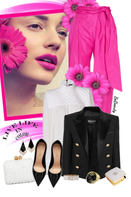 nr 2518 - A pop of hot pink