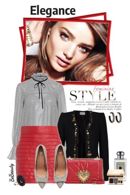 nr 2528 - Feminine elegance