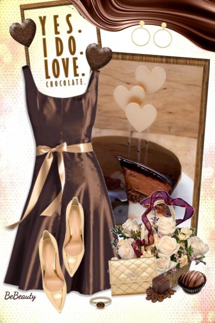 nr 2530 - I ♥ chocolate