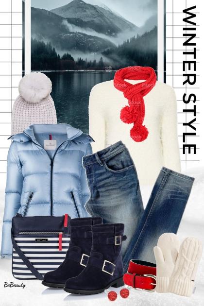 nr 2535 - Winter ♥- Modna kombinacija
