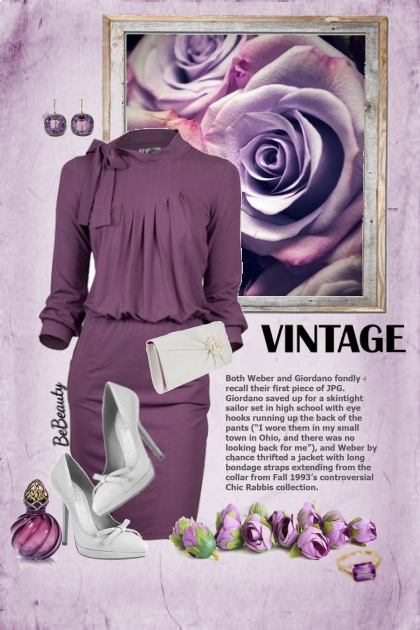 nr 2540 - Purple chic