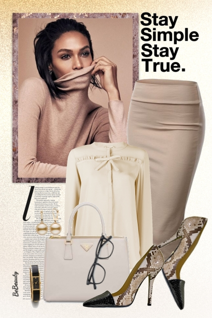 nr 2551 - Office style- Fashion set