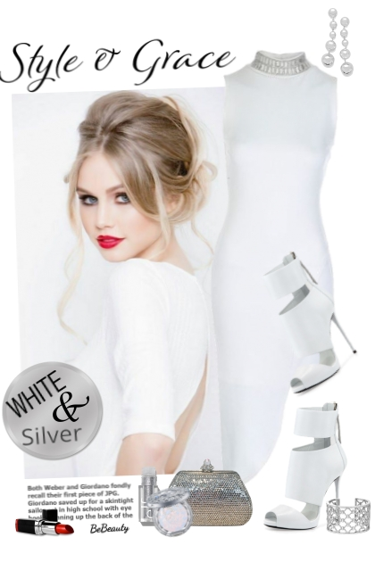 nr 2603 - White & silver