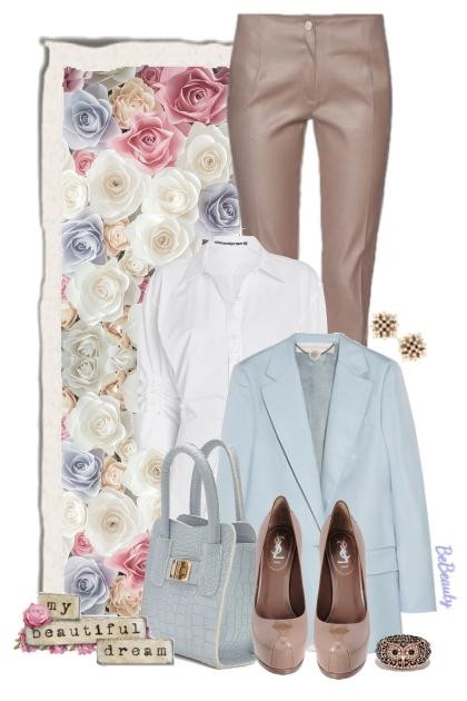 nr 2608 - Spring pastels- combinação de moda