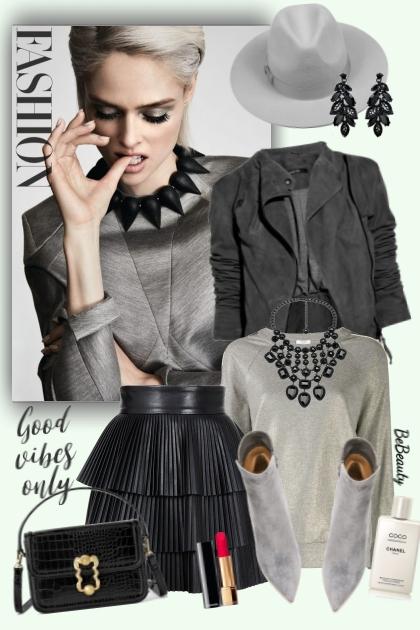nr 2614 - Black & grey