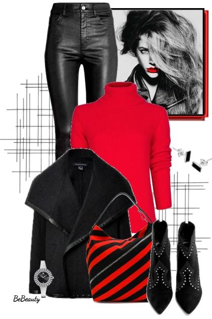 nr 2632 - Red & black